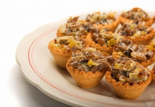 picture - 6 Ideas for mushroom tartlets