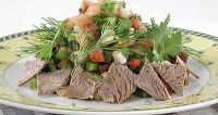 picture - Basque salad with beef