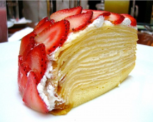 Pancake cake is relevant not only on Shrove Tuesday