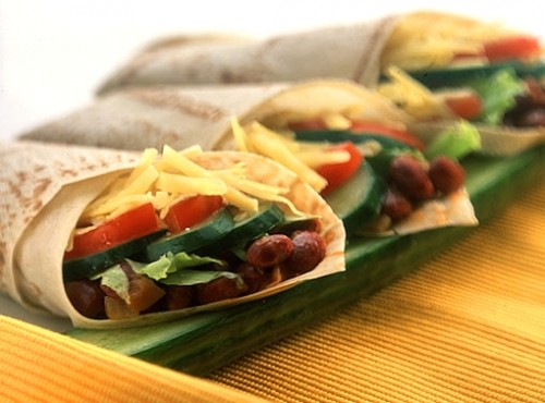Burrito - tasty and easy Mexican fast food