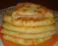 picture - Quick cheese cake with ham