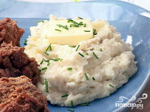 Cauliflower with minced meat in Multivarki, video recipe