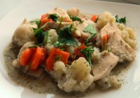 Dietary chicken with cauliflower