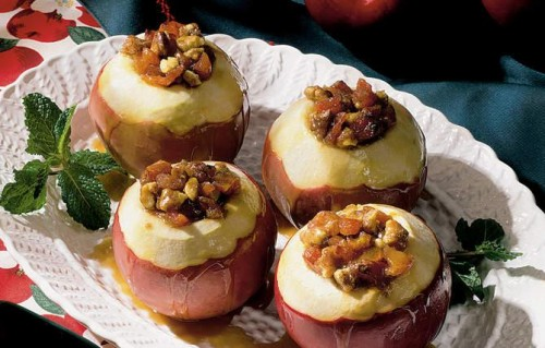 Stuff apples - healthy and tasty desserts