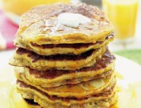 Fitness oatmeal pancakes