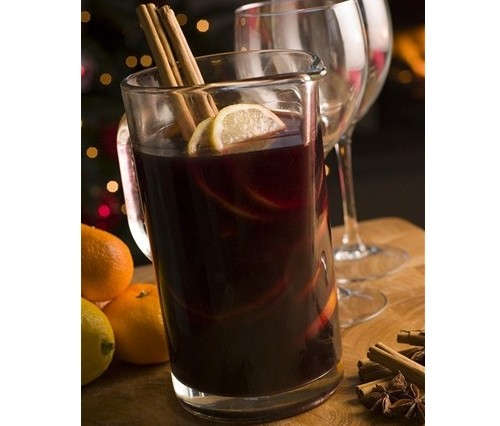 Mulled wine is German for