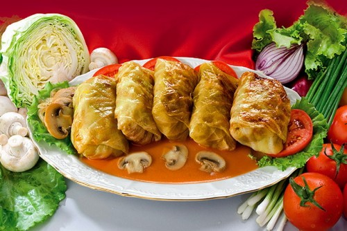 Stuffed cabbage - interesting ideas cooking