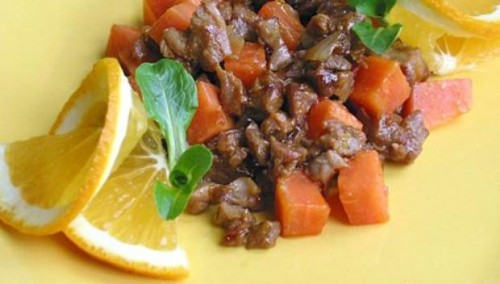 Beef with Fruit: 6 recipes