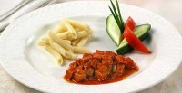 Goulash with sausage