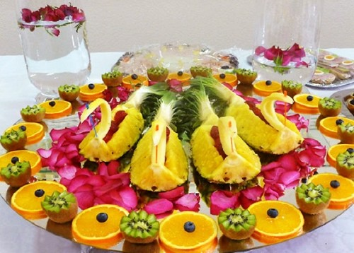 Design ideas fruit plates