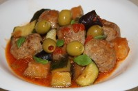 picture - Turkey with meatballs