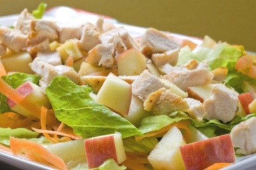 picture - Apple variety: summer salad recipes with apples