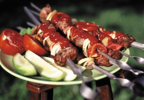 How to cook a tender and juicy skewers of beef?