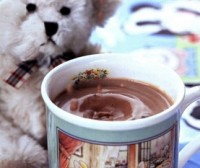 picture - Cocoa for Breakfast with egg