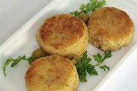 Potato cutlets with cheese