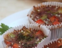picture - Cupcakes with chicken hearts
