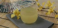 Jelly of pineapple juice