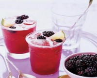 Pudding with BlackBerry
