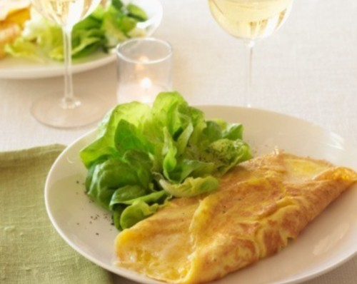 Classic omelette French