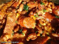 Cocktail egg salad with bread crumbs