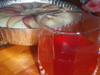 The red currant compote