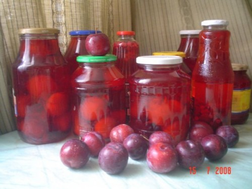picture - Compote of plums