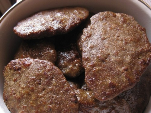 Cutlets from the liver