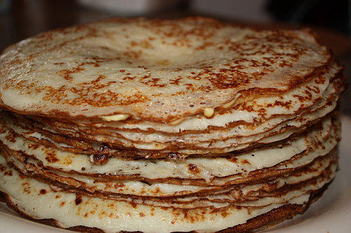 Lacy pancakes