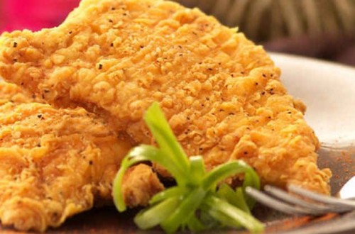 picture - Chicken in batter - delicious home