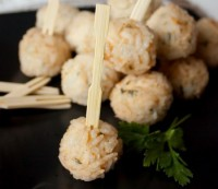 Chicken-rice balls
