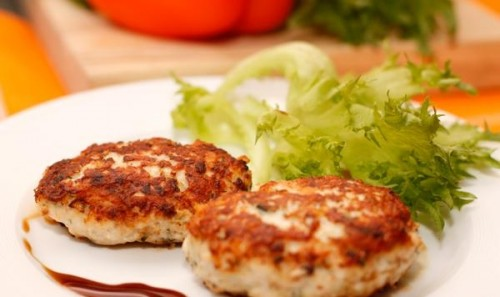 Chicken cutlets are the most simple and quick to prepare