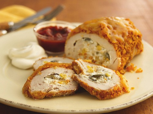 picture - Chicken rolls 6 recipes