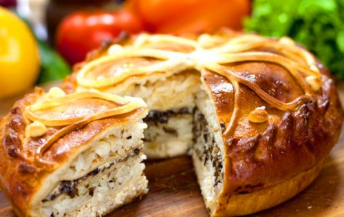 Krnik - traditional Russian pie