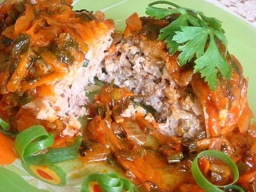 picture - Lazy cabbage rolls - fast versions of your favorite dishes