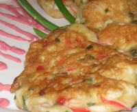 "picture - Pancakes with crab sticks ""Alaska"""