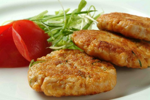 Vegetable cutlets - for everyone who loves to eat easily
