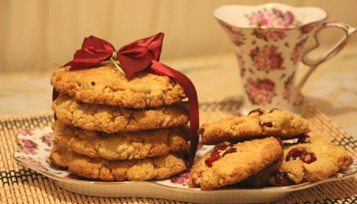 Oatmeal cookies, recipes oatmeal cookies with photo