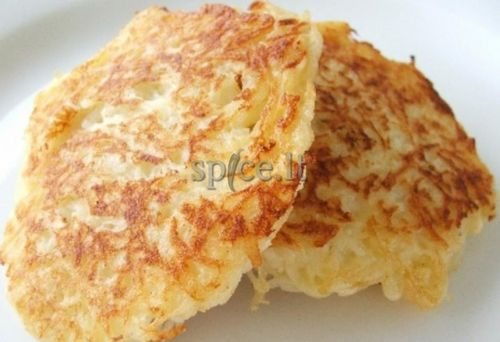 Pancakes with meat and potatoes, the video recipe