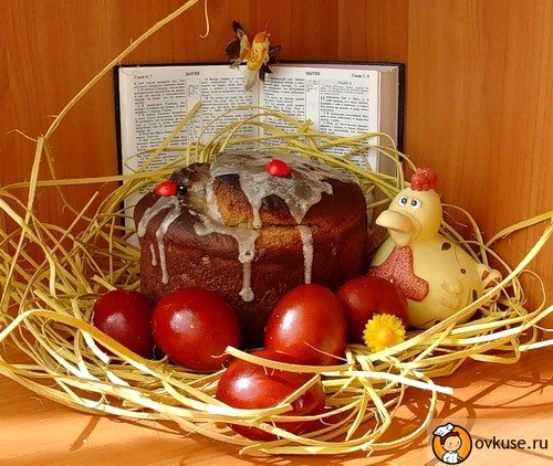 Easter with candied fruit