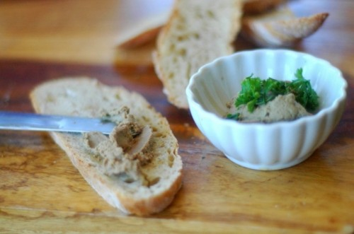 picture - The beef liver pate