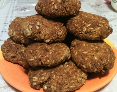 Oatmeal Cookies with pears