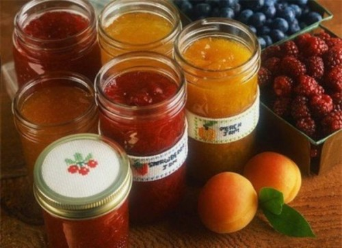 Useful for winter desserts: fruit and berry jam
