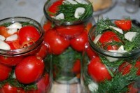 Tomatoes, canned with aspirin