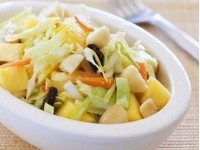 Vegetable salad Pineapple with NAPA cabbage