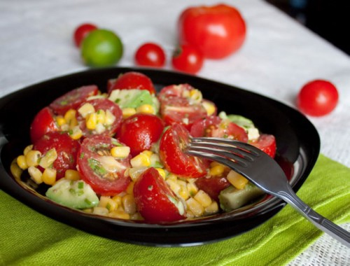 Daily salads with canned corn: 5 recipes