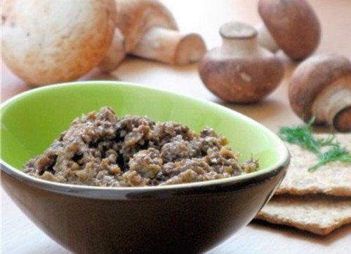 Recipes mushroom caviar with vegetables for the winter