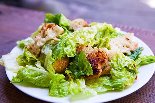 Recipes Caesar salad for the holiday table