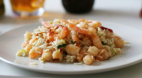 Rice with shrimp: 6 recipes