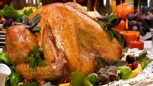 Christmas turkey: bake in the oven entirely