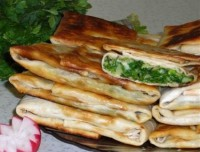 picture - Roll with egg and cheese lavash